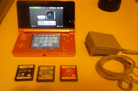 Nintendo 3DS Console - Pearl Pink