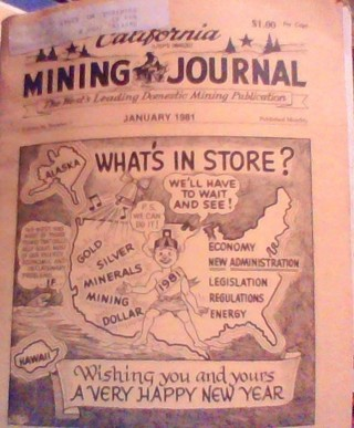 California Mining Journal January, 1981