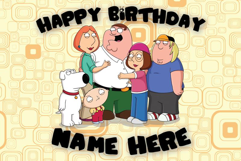 Free: Custom Family Guy Birthday Card - Birthday - Listia ...