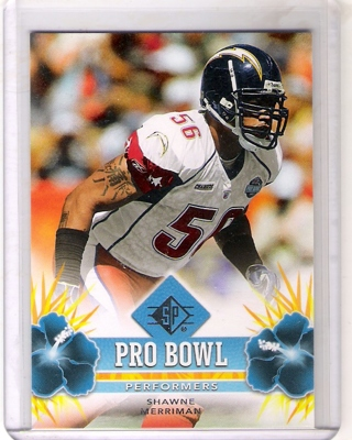Shawne Merriman 2008 SP Authentic Pro Bowl #PBP37