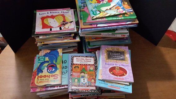 AMAZING BOOK LOT! 50 Pounds of Children's Books!