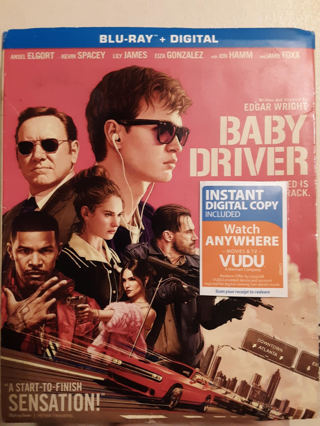 NEW BABY DRIVER BLU-RAY + DIGITAL