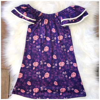Rosey Maxi Dress-- 5