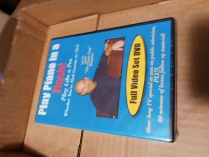 Play Piano in a Flash! Full Video Set DV DVD