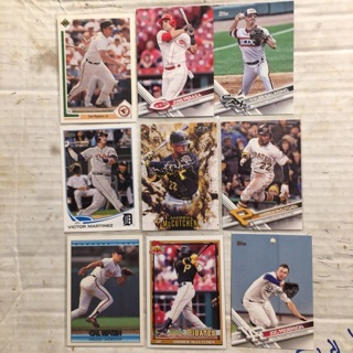 Mixed star lot of 9