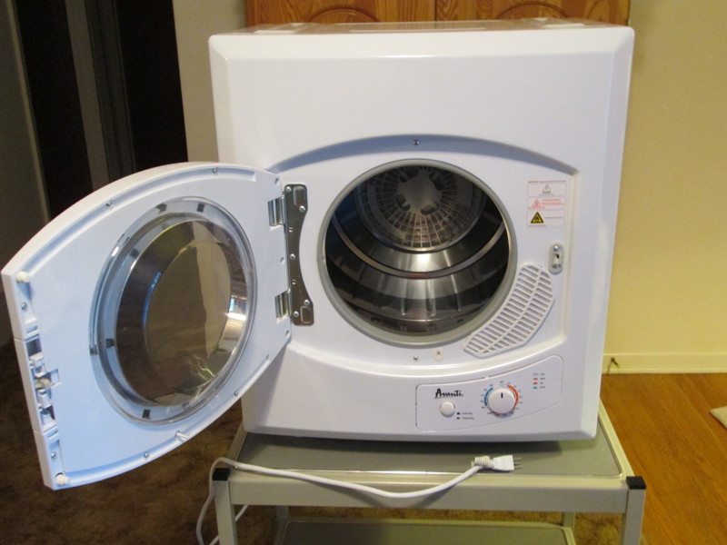 Portable Clothes Dryer ~ Free new avanti d portable front loading electric