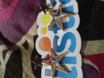 ★★★Double star earrings★★★