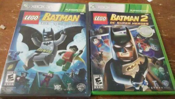 Xbox 360 Lego Batman 1-2