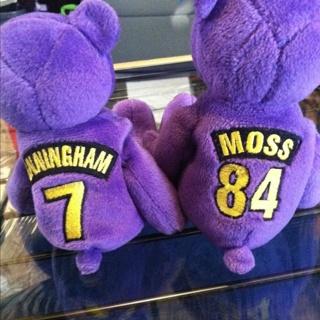 Free  2 Minnesota Vikings Beanie Babies - Collectible Toys - Listia ... 5d33421d012