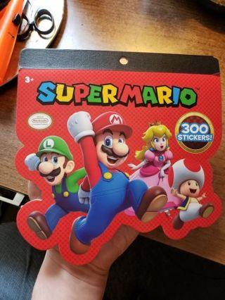 NEW Super Mario Bros 300 Sticker pack