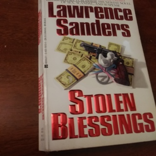 Stolen Blessings by Lawrence Sanders Paperback