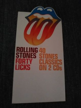 Rolling Stones: Forty Licks Promo