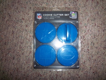new concept 0836b a3265 Free: NFL Dallas Cowboys Cookie Cutter Set NEW!! - Kitchen ...