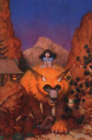 1996 Don Maitz Fantasy Art Trade Card: The Captive