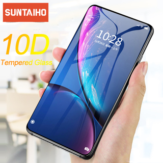 Suntaiho 10D Tempered Glass for iPhone 11 Pro Max X XR XS Full Curved Anti-Explosion Screen