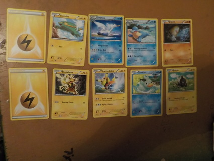 10 POKEMON TRADING CARDS LOT 4