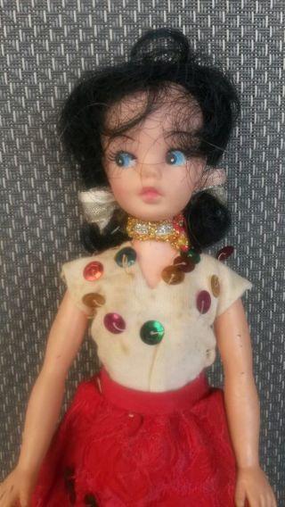 "Vintage 8"" doll"