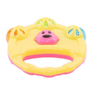 Cartoon Infant Baby Newborn Shake Bell Rattles Hand Kids Music Playing Toy