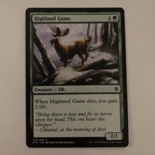 MTG - highland game