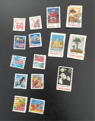 US stamps 1987 (#2)
