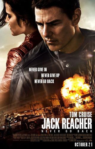 Jack Reacher:Never Go Back HDX VUDU Code
