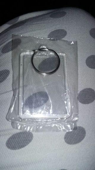Key chain - Photo holder