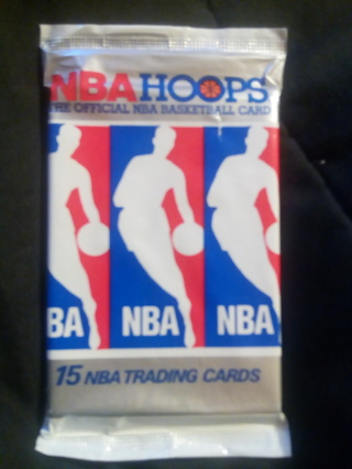 NBA HOOPS...  1990 Trading Cards