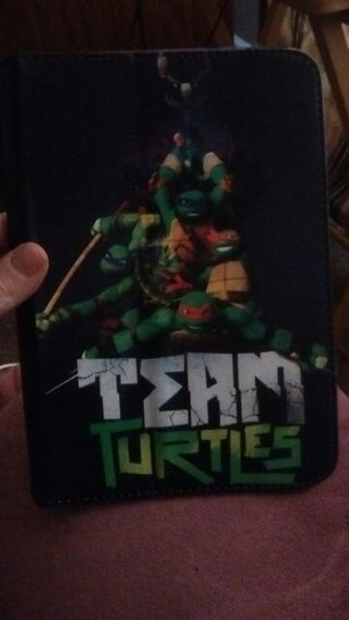 Ninja turtle mini laptop pad holder