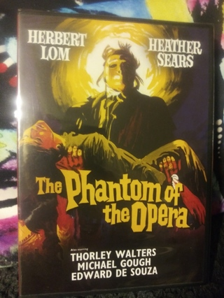 The Phantom of the Opera DVD Factory sealed