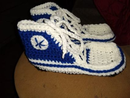 Crocheted sneakers FREE SHIPPING