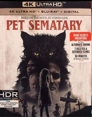 New Pet Sematary HDX digital code