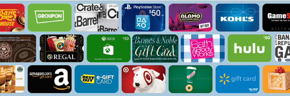 $200 Amazon, Ebay, Walmart, Best Buy, Etc Gift Cards - Fast Delivery - Mix & Match how you want!