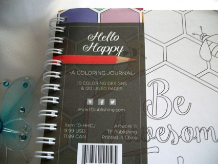 *:•.✿ Hello Happy...Beautiful **Artist Coloring Journal Book *: Last One •.✿