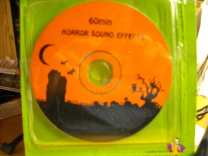 Free: Horror Sound Effects CD 60 minutes of Halloween - Halloween