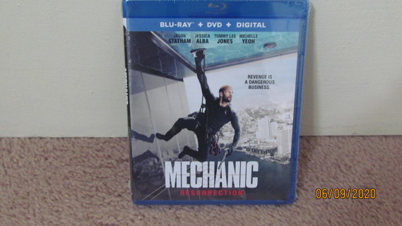 Mechanic: Resurrection Blu-Ray NEW in Package