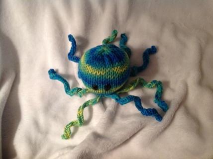 BLUE,Yellow,&GREEN OCTOPUS/GIN
