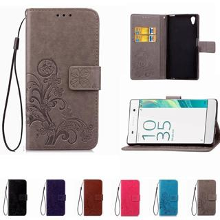 Leather Phone Case Wallet Cover For Sony Xperia Z1 Z3 Z5 Compact XA XA1 XA2 XA3 L1 L2 XZ XZ1 XZ3 X