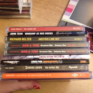 Free: Lot of Used CDs - Elvis Presley, Linkin Park, Hanson, John