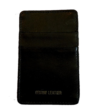Leather Men's Wallet - Black, Free Shipping & New