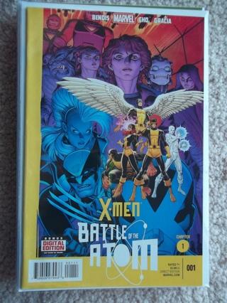 X-MEN: BATTLE OF THE ATOM #1 2013