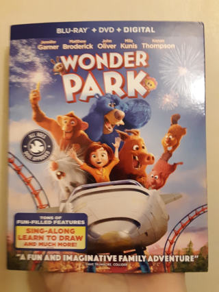 New WONDER PARK Blu-Ray + DVD + Digital Code Combo Pack