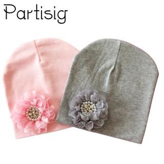 Baby Hat Winter Baby Cap Cotton Floral Hat For Baby Girl Flower Children Cap Kids Accessories