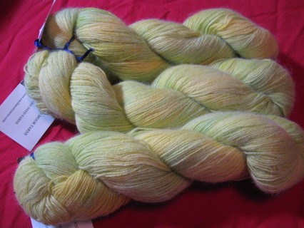 Hand Dyed Cashmere from England
