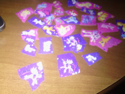1 RANDOM My Little Pony Sticker