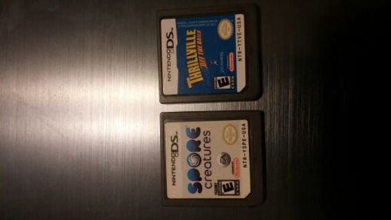 Spore and thrillville , Nintendo ds FREE SHIPPING