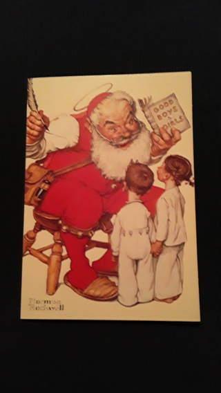 Christmas Cards - Santa's Visitors