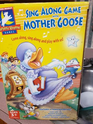 Sing-A-Long Game with Mother Goose