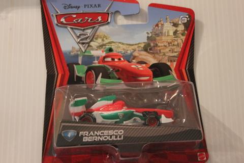 DISNEY PIXAR CARS   2  FRANCESCO BERNOULLI