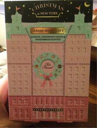 Too Faced Grand Hotel Cafe Christmas in New York