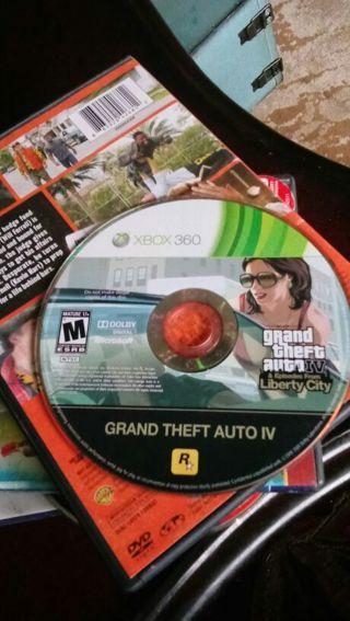 Grand Theft Auto IV For Xbox 360